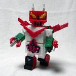 アイロンビーズロボット「はねずきん」(前)