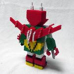 アイロンビーズロボット「はねずきん」(後)