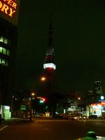 WHITEBAND on TOKYO TOWER